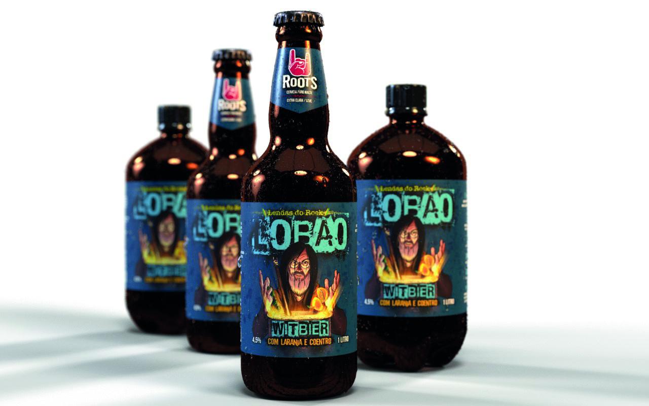 Cerveja homenageia astro do rock nacional.