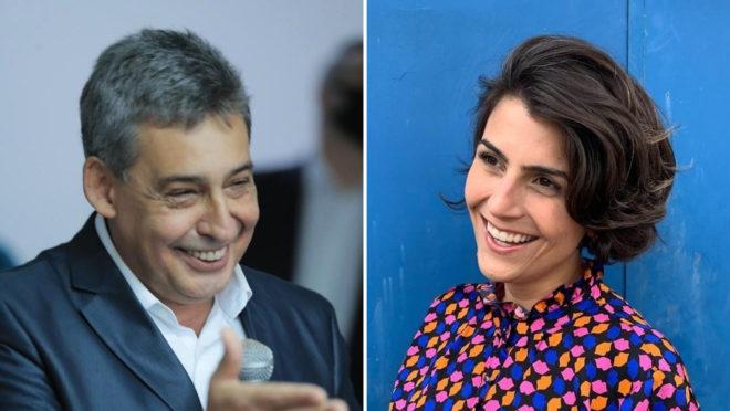 Sebastião Melo e Manuela D'Ávila estão no 2º turno em Porto Alegre: resultado da eleição é imprevisível nesse momento.